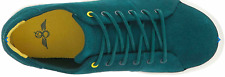 Green Suede Sneakers Cards Teal 7 Creative Recreation