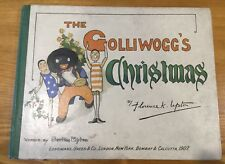 Florence K. Upton, Bertha Upton / Golliwogg's Christmas. 1st edition.  1907.
