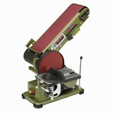 6 in. Disc Sander With Cast Iron Base And 3.5 Amp Corded 4 in. x 36 in. Belt