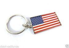 Porte-clés argentés en métal pour homme