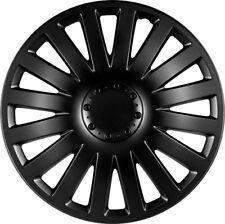 4 x Versaco Radkappen Radzierblenden für 15 Zoll Typ Hubtraum 3-2 schwarz matt