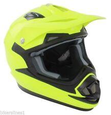 Off Road Dual Sport Plain Motorcycle Helmets
