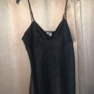 Victorias Secret Satin Teddy Babydoll  Nightie Lingerie Size Large