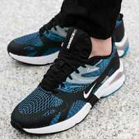 New NIKE Ghoswift Shoes Athletic Sneaker gym training Mens black blue sz 8-11.5