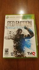 Red Faction: Armageddon (Microsoft Xbox 360, 2011) MINT COMPLETE! MAIL TOMORROW!
