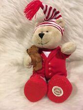 Starbucks 68th Edition Bearista Bear Collection Holiday Christmas Red PJs