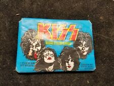 Vintage 1978 Series 1 Sealed Pack of KISS Cards Blue Pack Donruss