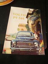 Original 1959 Volvo PV 544 Sales Brochure