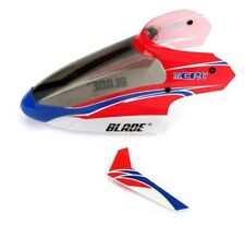 BLADE mCPX mCP2 Complete Red Canopy & Vertical Fin BLH3518