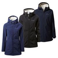 Craghoppers Womens Ingrid Waterproof Fleece Lined softshell Jacket RRP £75