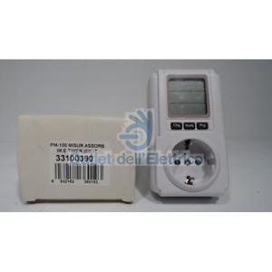 Lafayette PM-150 Meter Absorption And Timer Plug And Schuko Plug 33100390