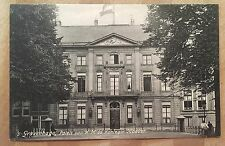 AH364 Early 's-Gravenhage Paleis Queen Mother's Palace Netherlands Vintage PC