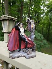 The Curse of Dracula Bella Lugosi Statue by Michal Hill