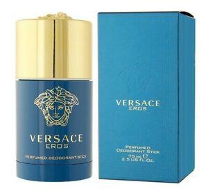 Versace EROS for men perfumed deodorant stick 2.5 oz 75 ml new in box sealed