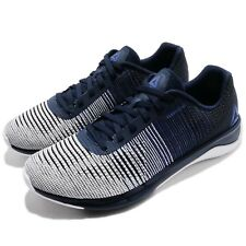 Reebok Fast Flexweave Black White Navy Men Running Shoes Sneakers CN4272