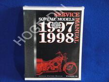 1997 1998 Harley softail heritage fatboy night train springer service manual