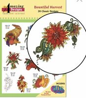 Amazing Designs Embroidery CD Bountiful Harvest ADC-62 Brand New Sealed