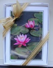 10 Boxed Flowers Greeting Cards, any occaction