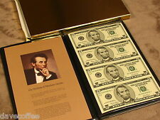 2003 $5 UNCUT GEM U.S. STAR NOTES-RARE LOW PRINTING- FREE SHIP