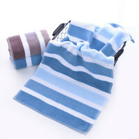 Face Hand   Bath   Breathable  New Towel 1Pc  Striped  Washcloth  Towel