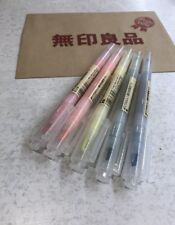 Japan MUJI 5 colours Twin Tip Highlighter pens set FASTEST FREE SHIPPING