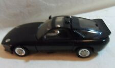 Porche Black Diecast Transformer Car 5""