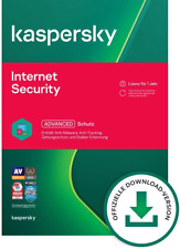 D-A-CH  Kaspersky 2021 Internet Security  Antivirus  1, 2, 3 Benutzer neu Top