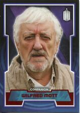 Doctor Who 2015 Red Parallel [50] Base Card #50 Wilfred Mott