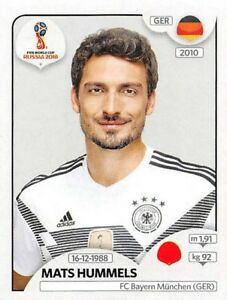 stickers Panini coupe du monde Russie 2018 - N° 435