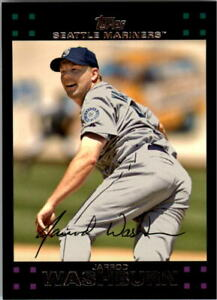 A0058- 2007 Topps Baseball Cards 498-661 +Inserts -You Pick- 10+ FREE US SHIP