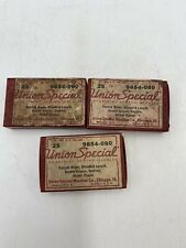 Vintage 1950s 3 Packs of Union Special Industrial Sewing Needles, Chicago Ill
