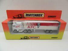 Matchbox Convoy CY-8 Kenworth Box Truck 'KFC' - Mint/Boxed