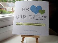 Fatto a mano personalizzata Papà Festa Del Papà Compleanno Biglietto Dad Papà Zio Grandad