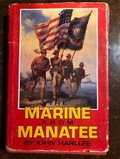 Marine From Manatee By John Harlee Signed