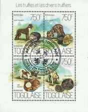 Timbres Champignons Chiens Togo 3681/4 o année 2013 lot 20003 - cote: 17 €