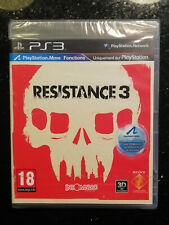 Resistance 3 playstation 3 neuf sous blister