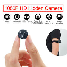 Camera HD Wireless Small Portable Night Vision Motion Detection Cam Wearable