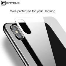 iPhone X Panzerfolie Back  Rückseite Echtglas 9H Schutzglas Schutzfolie Hinten