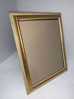 """Photo Frame Gold Gilt Ornate Victorian Holds 8x10"""" Picture Wall Or Freestanding"""