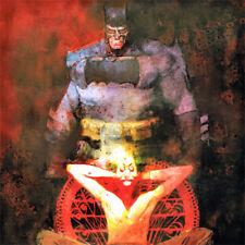 """BATMAN * JOKER Signed ART PRINT Bill Sienkiewicz DC Comics 17x11"""" DARK KNIGHT"""