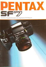 Pentax SF7 Prospekt brochure - (0340)