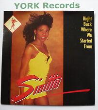 "SINITTA - Right Back Where We Started From - Ex Con 7"" Single Fanfare FAN 18"