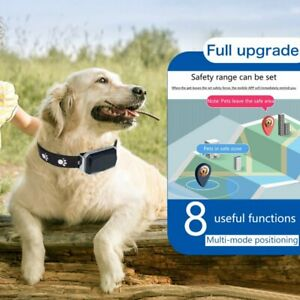 Pet GPS Tracker Real-Time GSM Dog Cat Tracking Collar Position Activity Monitor