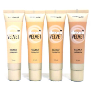 Maybelline Dream Velvet Soft Matte Hydrating Foundation NEW Choose your shade