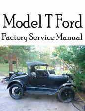 Model T Ford Factory Service Manual : Complete Illustrated Instructions for A...