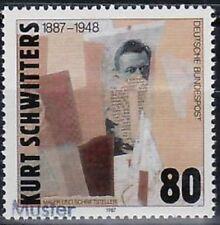 Specimen, Germany Sc1510 Artist Kurt Schwitters (1887-1948).