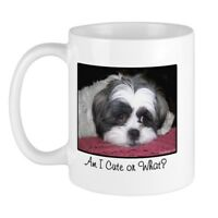 CafePress Cute Shih Tzu Dog Mug 11 oz Ceramic Mug (187786100)