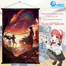 Anime movie Wall Scroll Poster Bungou Stray Dogs Art Home Decor collection Gift