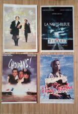 4 carte postale Sophie Marceau Chouans Note bleue Pour Sacha L'Étudiante cinéma
