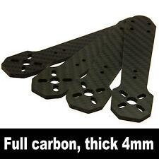 4x Carbon Fiber Arm Motor Mount 4mm for QAV250 Mini Quadcopter 250mm Drone